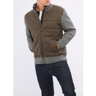 Strickjacke Zip 1/1 Arm