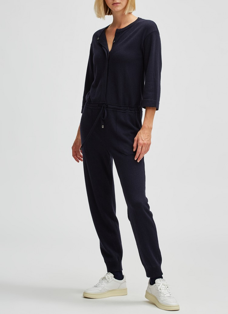 STRICK OVERALL, Navy Frontansicht